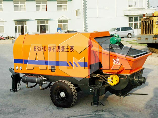 electric small portable concrete pump