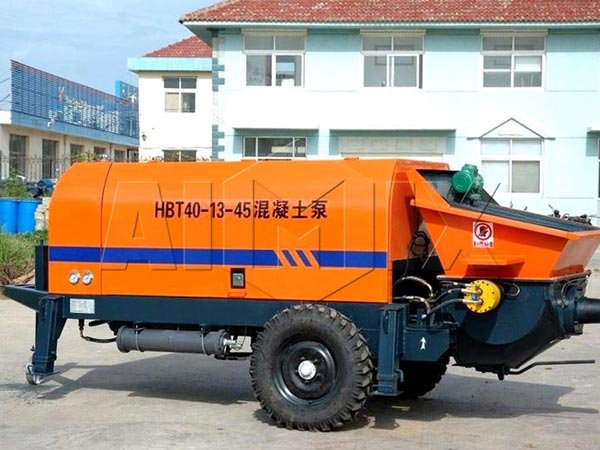 Electric-Trailer-Concrete-Pump