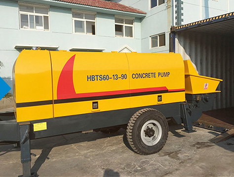 HBTS60-SR Concrete Trailer Pump