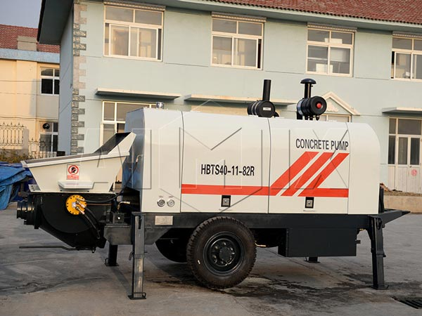 truck mounted concrete line pump for sale