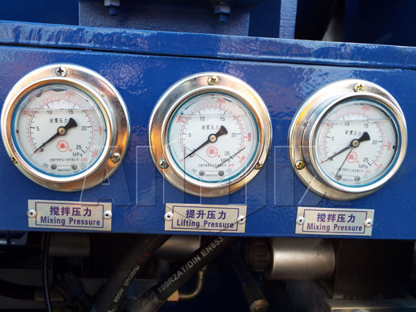 Vibration-proof-pressure-gauge