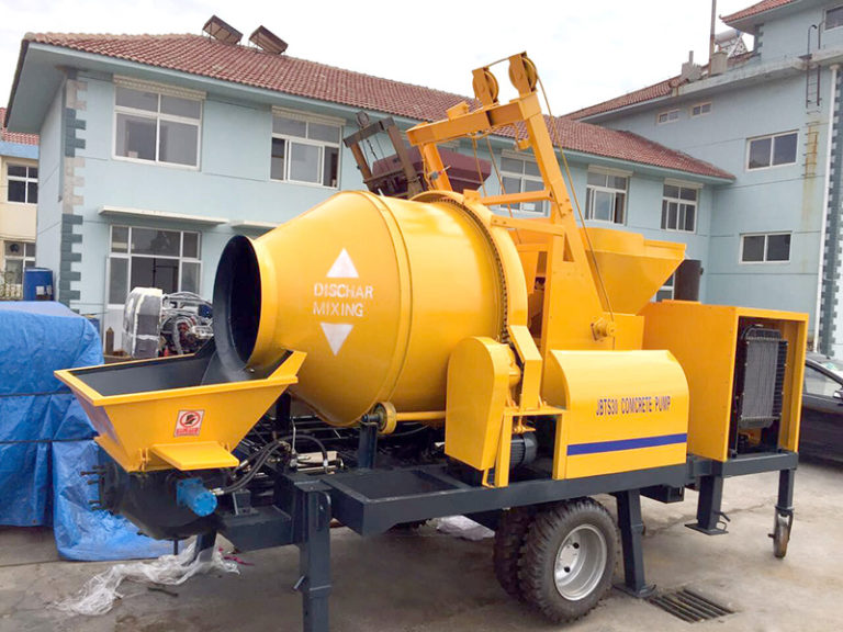 concrete mixer with pumps for sale