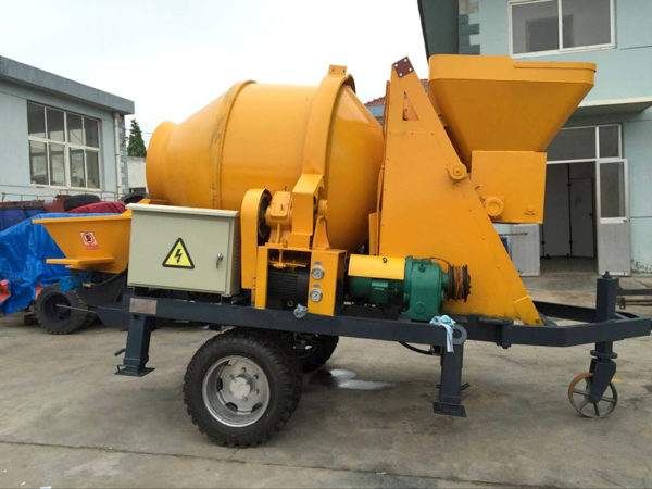 concrete mixer pump JBS30 1