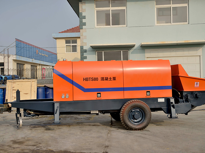 HBTS80-SR Concrete Trailer Pump